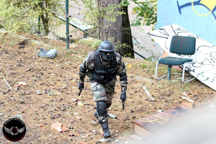 équipe, team, airsoft, paintball, chef, commandant, leader, médic