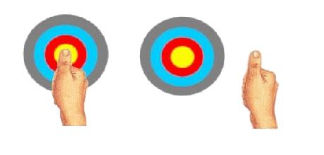 débutant, airsoft, paintball, viser, tirer, gun, oeil directeur, cible