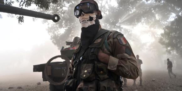 Ghost Mali, ghost, masque, stalker, intimider, intimidation, faire peur, airsoft, psychologie, commando