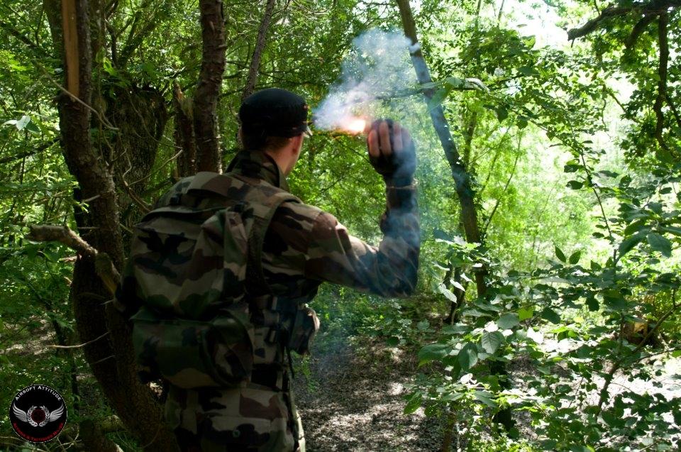 Exfiltration Fumigène