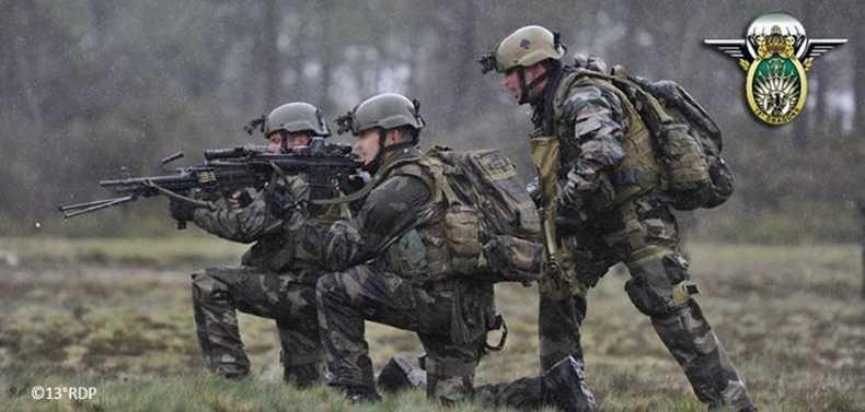 Equipement militaire francais airsoft