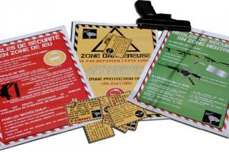 Affiches et étiquettes Airsoft