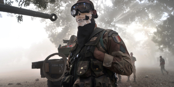 Ghost Mali, ghost, masque, stalker, intimider, intimidation, faire peur, airsoft, psychologie, commando