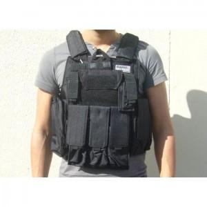 veste-tactique-ciras-noire-swiss-arms