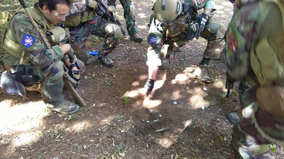 Airsoft briefing