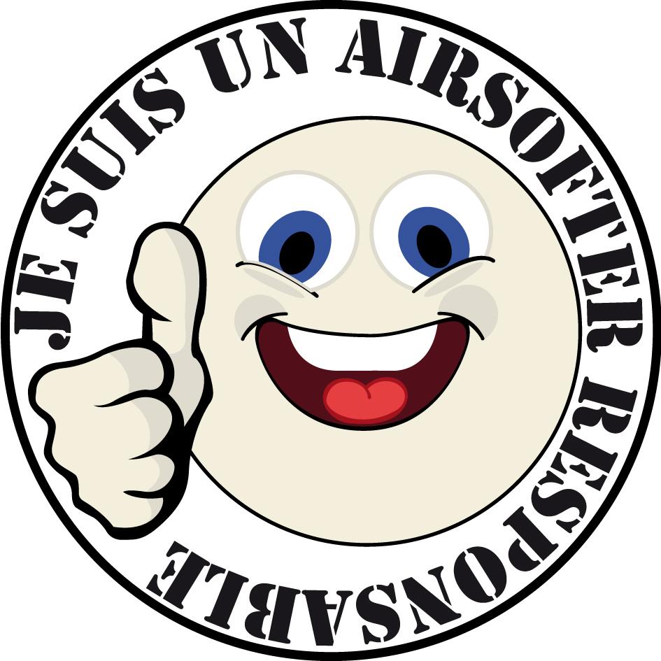 Logo Airsoft responsable